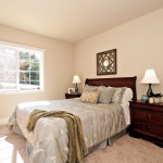 Let the sun shine in this spacious main floor bedroom.