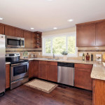 Beautiful hardwood fllors, stainless steel appliances will appease the chef in you.