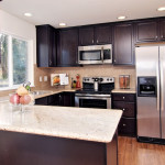 Totally redone kitchen with stainless steel appliances